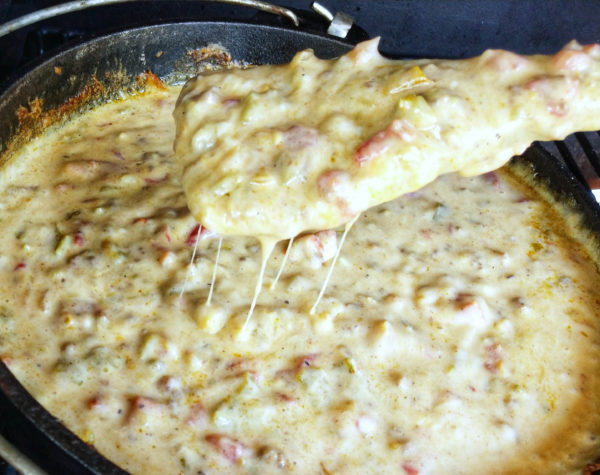 Smoked Queso Blanco With Head Country High Plains Heat Seasoning   Spicy Loaded Queso   Best Cheesy Seasoning Recipes