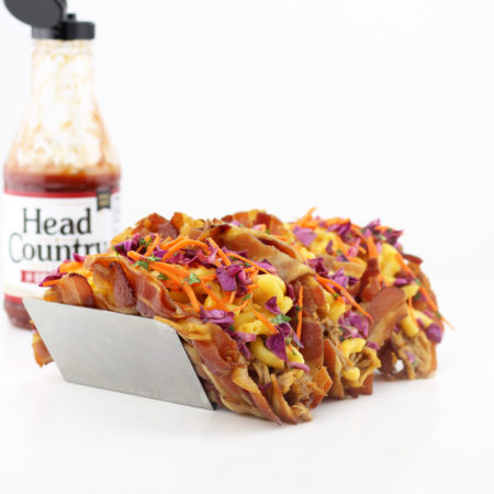Bacon Weave Pulled Pork Tacos   Best BBQ Sauce Bacon Recipes   Bacon Weave Taco Shell Recipe   Pork Seasoning