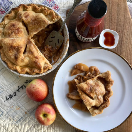 Brown Sugar BBQ Apple Pie | Creative Pies With BBQ Sauce | Best BBQ Holiday Recipes | BBQ Dessert