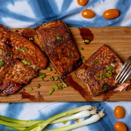 Marinated Grilled Salmon BBQ Recipe