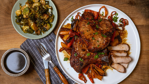 This recipe for Marinated Pork Chop Recipe for BBQ Grilling and Smoking is quick, easy, and is ready in under an hour.
