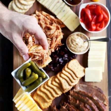 How to Make a BBQ Charcuterie Board with Head Country BBQ Sauce