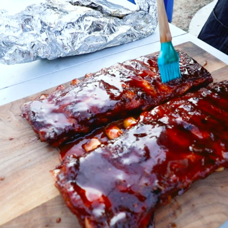 Apple Habanero Smoked BBQ St. Louis Style Ribs | How long does it take to smoke ribs | what are the best ribs to smoke | Do you wrap ribs in foil while smoking