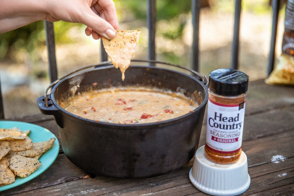 Doug Scheiding Head Country BBQ Best Queso Blanco for Game Day
