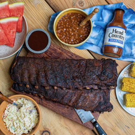 Sugar Free BBQ Ribs | Paleo BBQ Ribs | Keto BBQ Ribs | Diabetic BBQ Ribs
