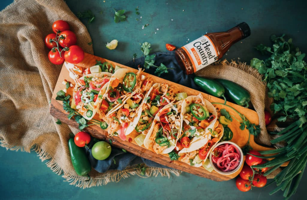 Instant Pot Chipotle BBQ Chicken Tacos