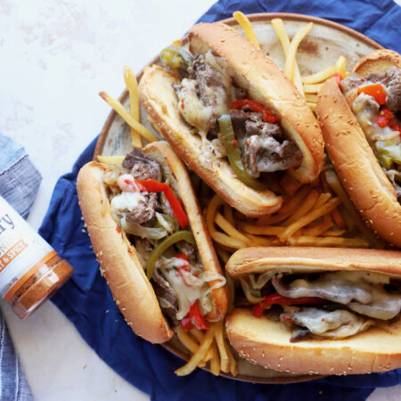 Instant Pot Philly Cheesesteak | What goes in a philly cheesesteak, what cut of meat is best for philly cheesesteak, Head Country Seasoning