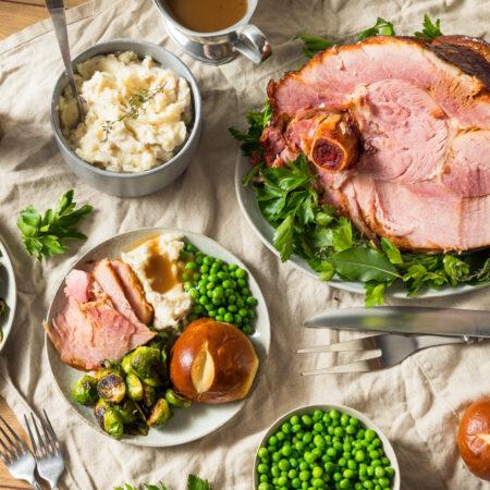 Smoked ham recipe with five glaze recipe ideas