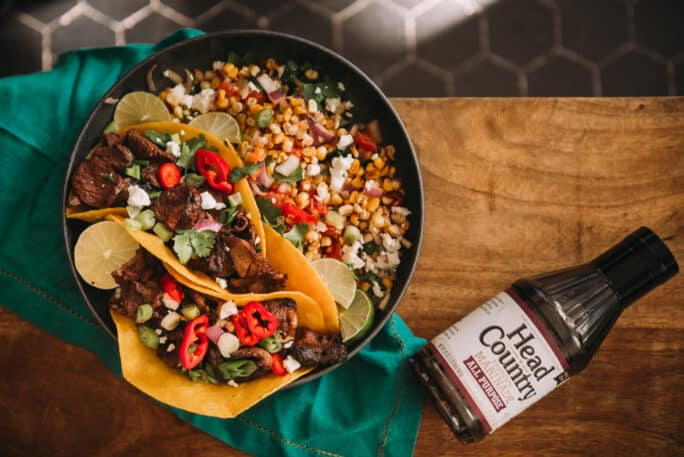 Quick and Easy Steak Tacos | how to make steak tacos, best steak for tacos, chuck steak recipes, how to cook chuck steak, grilled chuck steak