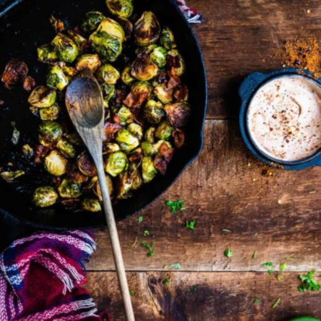 BBQ Glazed Smoked Brussels Sprouts | How to grill brussels sprouts, grilled brussels sprouts, how to cook brussels sprouts on the grill