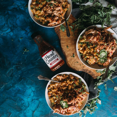 Instant Pot BBQ Chicken Mac and Cheese | instant pot mac and cheese, bbq mac and cheese, chicken mac and cheese