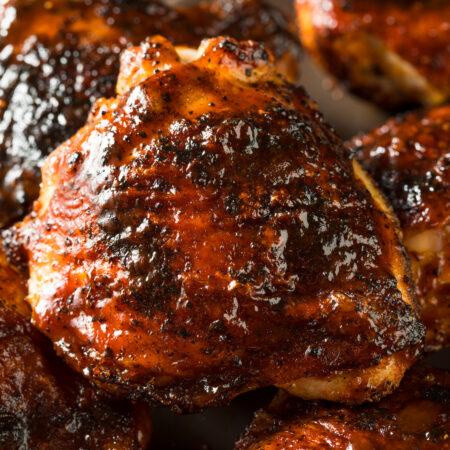 Slow cooker bbq chicken thighs, bbq chicken recipe crockpot, crockpot bbq chicken thighs